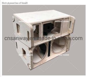 Vera20 Dual 10 Woofers e um driver de 3 passiva compacta Colunas de Matriz da Linha Superior & S32 18 14 de volta subwoofer de coluna linear frontal para sistema de som ao vivo