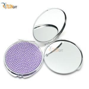 Mini mignon de pliage de haute qualité Stick Diamond miroir de maquillage