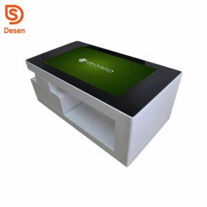 Kiosque de l'écran LCD d'affichage de café la signalisation numérique interactive Multi Touch Smart Table personnalisé