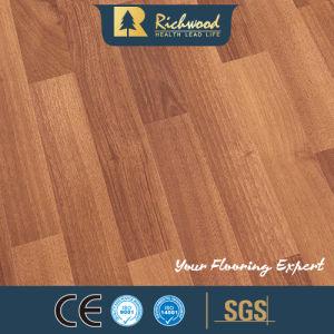 8.3Mm E1 AC3 de madera de nogal U ranurado de parquet de roble de vinilo suelos de laminado de madera laminada