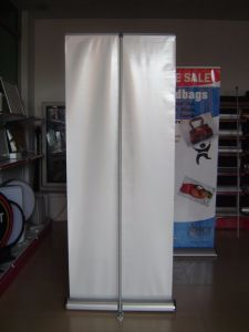 Smart Standee prisme triangulaire de base à rouleaux Roll up Banner Stand (SR-11)