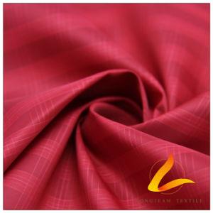 75D 215t Tecidos Jacquard de pele de pêssego 100% de tecido de poliéster (63043B)
