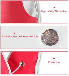 La tecnología 4D de calentamiento de silicona tocando masajeador de cuello y hombro