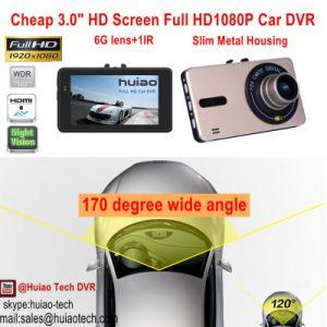Hot&Cheap 3.0  volle HD1080p Auto-Kamerarecorder-Gedankenstrich-Kamera aufgebaut mit 5.0mega CMOS Objektiv, H264. Digital-Videogerät, HDMI heraus bewegliches DVR-3013