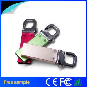 Высокая скорость металлической цепочки ключей USB 2.0 Flash Memory Stick™