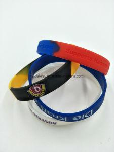 Bracciali su ordinazione del silicone, braccialetti del silicone per i regali di promozione