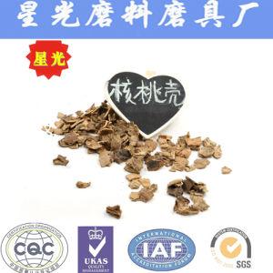 Secagem Natural Walnut Shell Sêmola de abrasivos com diferentes tamanhos de partículas