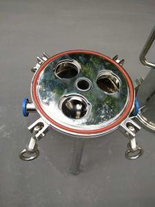 Filtros industriales de acero inoxidable sanitario de agua de la caja de filtro de cartucho
