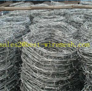 Filo galvanizzato Caldo-Tuffato del rasoio/filo per la rete fissa