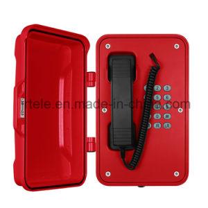Открытый Top-Rated 3G-телефон экстренной связи, атмосферостойком купольном промышленных телефонов GSM
