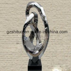 A arte abstracta estilo ímpar escultura metálica de Adorno artesanato doméstico