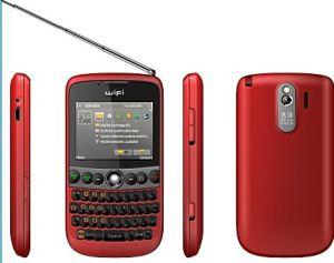 Wifi Mobile mit Fernsehapparat und JAVA W8522