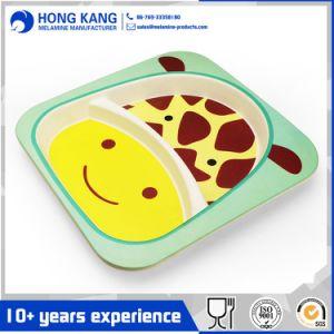 Einfarbige Melamin-Essgeschirr-Mittagessen-Größengleichplatte kundenspezifisch anfertigen