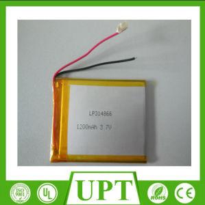 314866 la batteria ricaricabile dello Li-ione dell'alta energia 3.7V 1200mAh (polimero) per illumina le unità