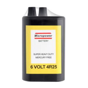 Superhochleistungsbatterie 4r25/6V