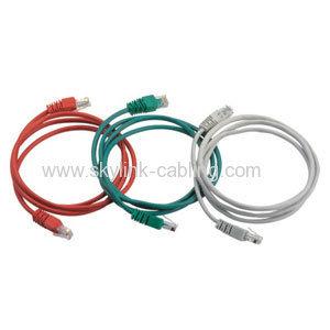 Red RJ45 UTP / FTP cable Patch RJ45 Sin cable RJ45 Plug Jumper-