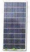 2.85A 최대 현재와 알루미늄 합금 구조를 가진 100W 다결정 실리콘 태양 전지판