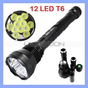 13800内腔12Xのクリー語Xm-L Xml T6 12t6 12 T6 LED Light Flashlight Torch Lamp