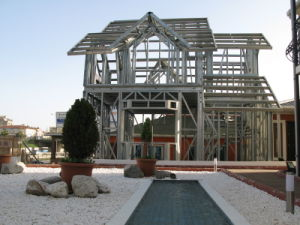 Eco-Friendly 가벼운 강철 구조물 Prefabricated 조립식 집