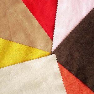 Largeur de l'échelle Warp polyester Tissu micro-daim canapé