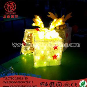 LED-Beleuchtung-Kleber-Griff-Geschenk-Kasten-Weihnachtsdekoration-Licht