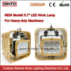 indicatori luminosi quadrati delle lampade del lavoro dell'inondazione della strumentazione di 10-30volt LED per i camion dei trattori agricoli