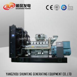 Venta caliente de tipo abierto 100 kVA 80kw de potencia del generador diesel Perkins.