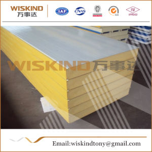 Matériaux de construction étanche panneau sandwich polyuréthane pour la structure en acier