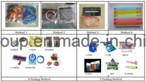 Fasce di manopola di vendita calde di Debossed dell'elastico del braccialetto su ordinazione promozionale del silicone