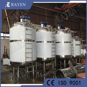 1000L галлон пара из нержавеющей стали электрического отопления и охлаждения в два раза в защитной оболочке пожилых людей в процессе ферментации реактора смесительный бак для хранения