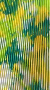 Palmilha cor dupla massagem EVA Sandálias de folhas