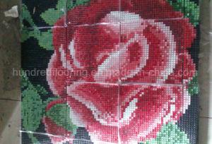 Mosaico de vidrio el arte de pared de diseño del patrón de mosaico (HMP766)