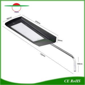 15W 2100LM calle la luz solar lámpara de pared exterior integrado
