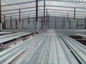 Estructura de acero de la luz de una nave de almacenamiento con grandes Span