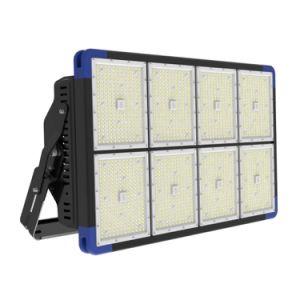 Alta potencia de 1500W proyector LED IP66 para que la Corte y el fútbol Studium iluminación con la carcasa de aluminio