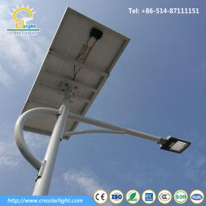 5m полюс 30W солнечной энергии для освещения улиц автостоянка