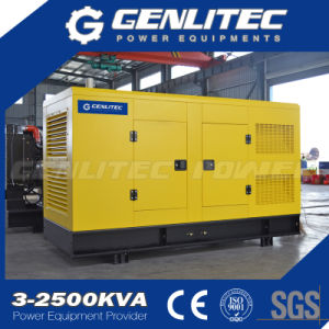 AC無声三相出力タイプ発電機375kVA 300kw