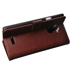 Pochette de chiquenaude avec la caisse de cuir de logement pour carte pour Coolpad Note3