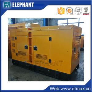 Большие обороты двигателя на базе Глобальной гарантия 64квт/80 ква бесшумный дизельный генератор