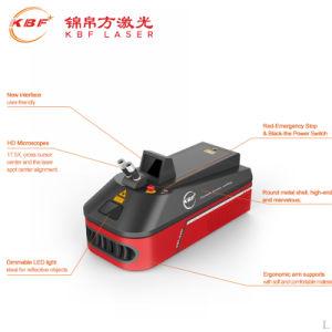 Saldatrice tenuta in mano poco costosa del laser dell'oro del tavolo YAG per acciaio inossidabile