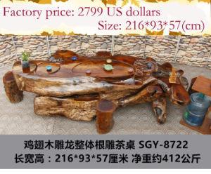 Arte Popular Chinesa - Raiz Carving mesa de café