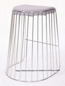 バースツールのレストランの椅子を食事するMordenの標準的な金属のスタック可能ワイヤー
