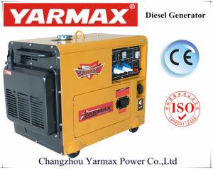 Альтернатор молчком Genset Ym6700t звукоизоляционного 4.5kVA 5.5kVA генератора энергии Yarmax установленный