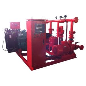 Пожаротушение водой дизельного двигателя электрический насос верховой езды,