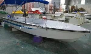 警察のための6.1mのガラス繊維のパイロットのパトロール作業ボート