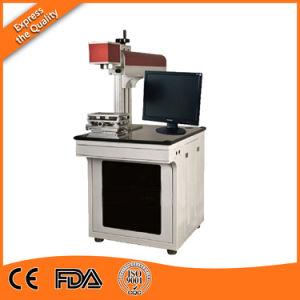 CNC 10With20With30With50W/Fiber Laser-Markierungs-Gravierfräsmaschine für Metall u. Plastik