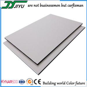 Jiyu decoración exterior de la construcción de Panel Compuesto de Aluminio