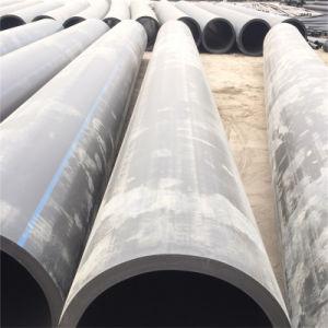 Tubo de PEAD DN 800 mm de diámetro grande tubo PE PE80 o PE100