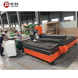 8つのカッターの自動ツールの変更の木工業のドアの彫版機械