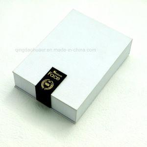 دقيقة كتاب شكل محارة ورق مقوّى مستحضر تجميل هبة يعبّئ صندوق